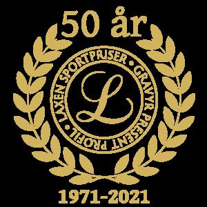 Laxen logo Ny2020 50ÅR