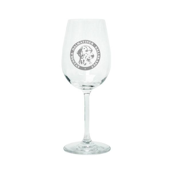 Svenska Dalmatinersällskapet vinglas