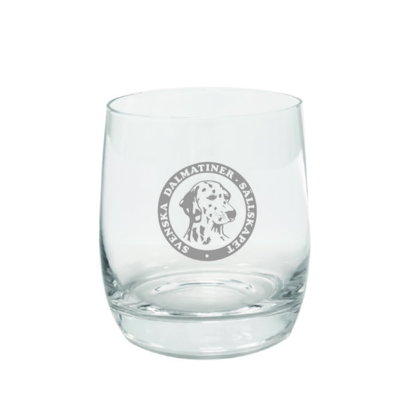 Svenska Dalmatinersällskapet whiskyglas