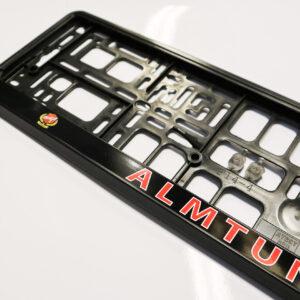 Nummerplåtshållare Almtuna IS