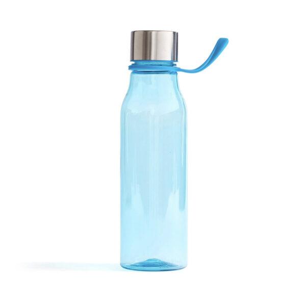 Lean vattenflaska i plast, ljusblå