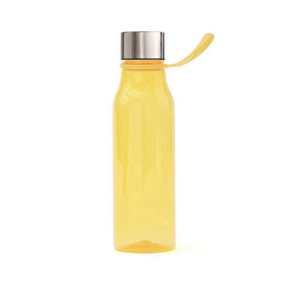Lean vattenflaska i plast, gul
